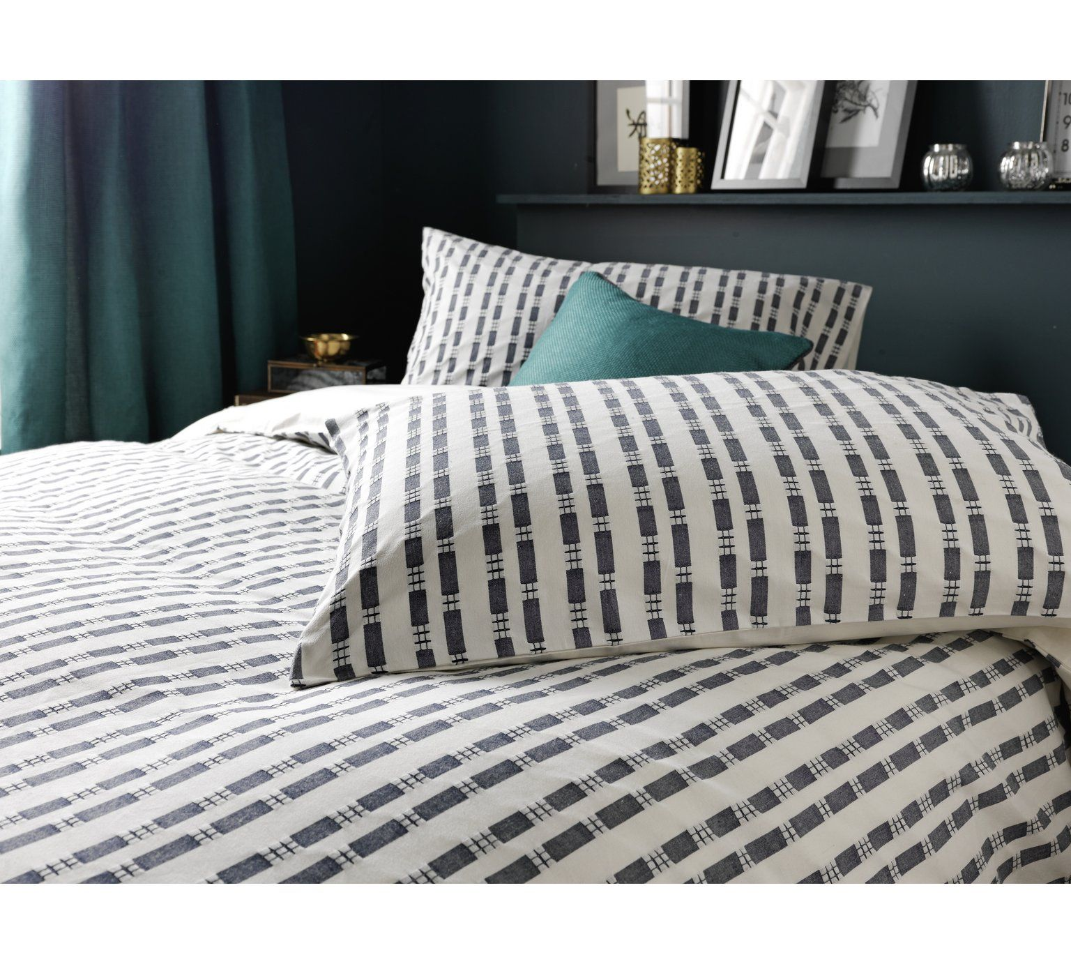 Buy Heart Of House Discovery Jacquard Bedding Set Superking At