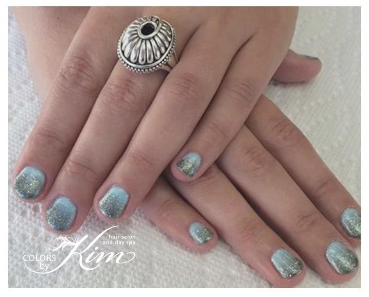 Gel Polish Ombre Manicure. Designed by Corin! colorsbykim.com