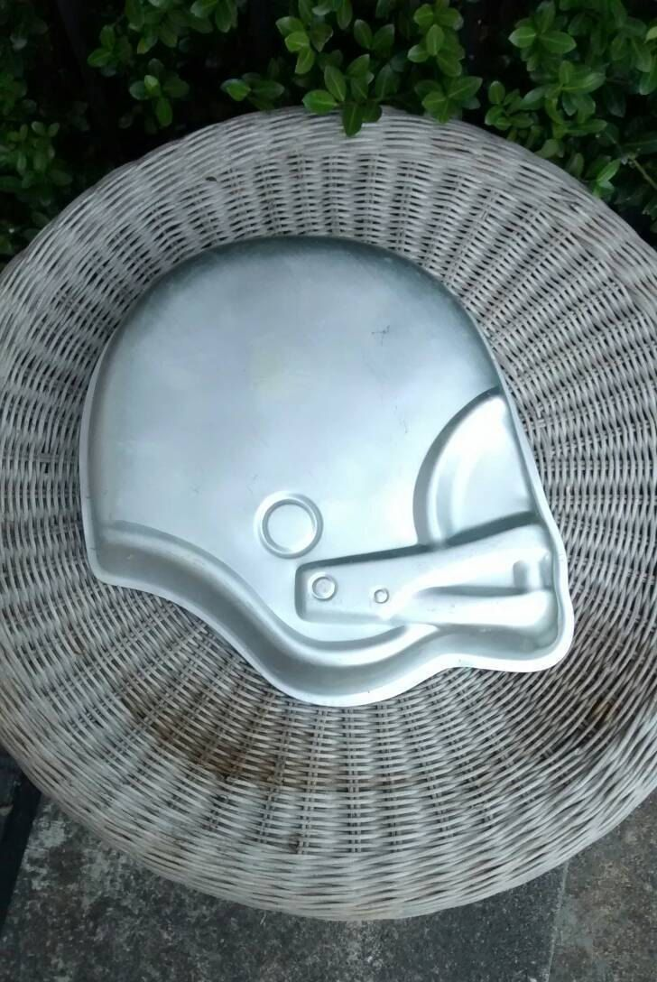 Football Helmet Cake Pan Vintage 1979 Baking Pan Wilton Football Helmet Cake Cake Pans Football Cake