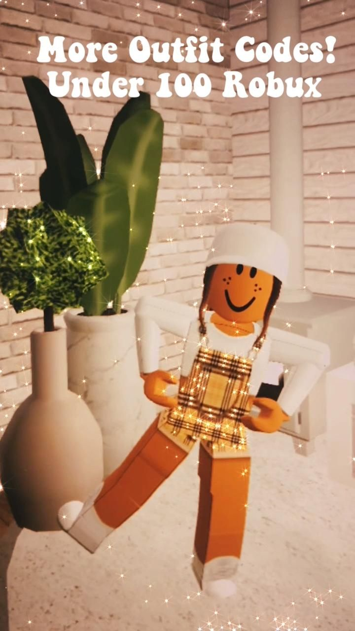 Aesthetic Roblox Outfit Codes Under One Hundred Robux Video Roblox Animation Roblox Funny Game Design