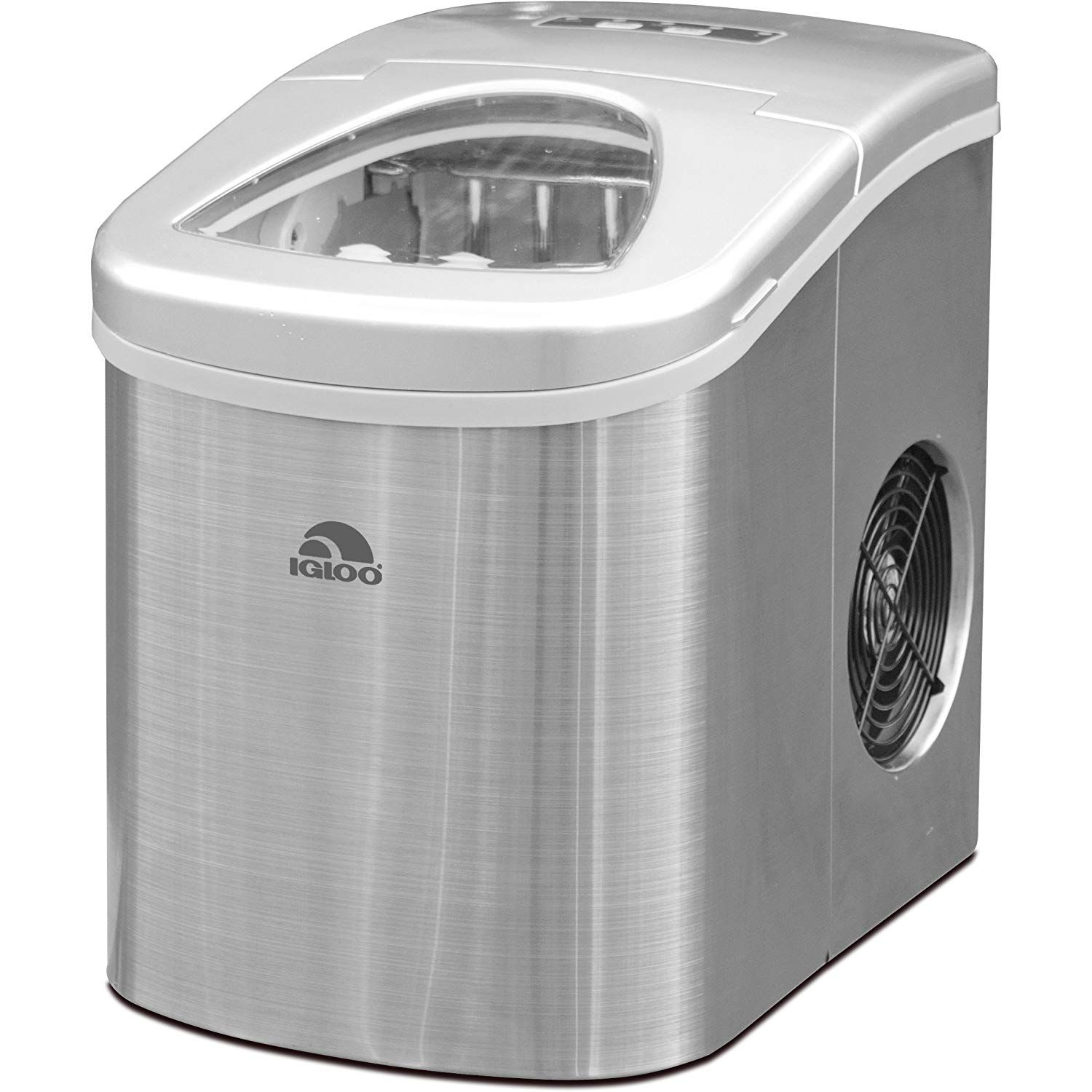 Igloo Ice105 Counter Top Compact Ice Maker Stainless Appliances