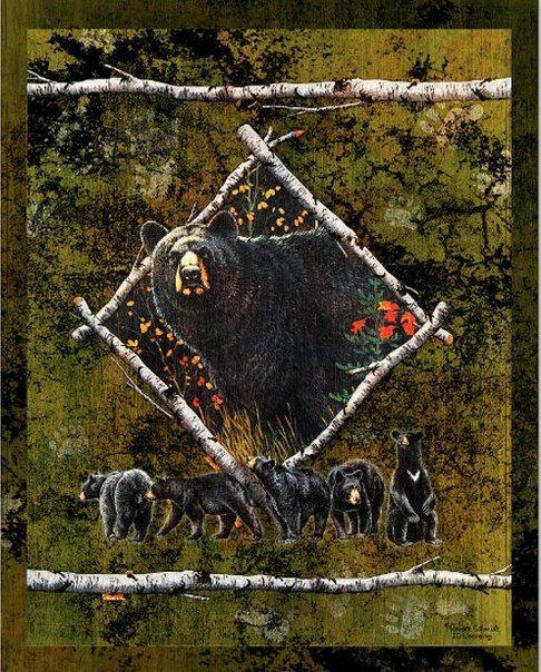 Ohota I Rybalka 27 Fotografij Bear Art Bear Paintings Art