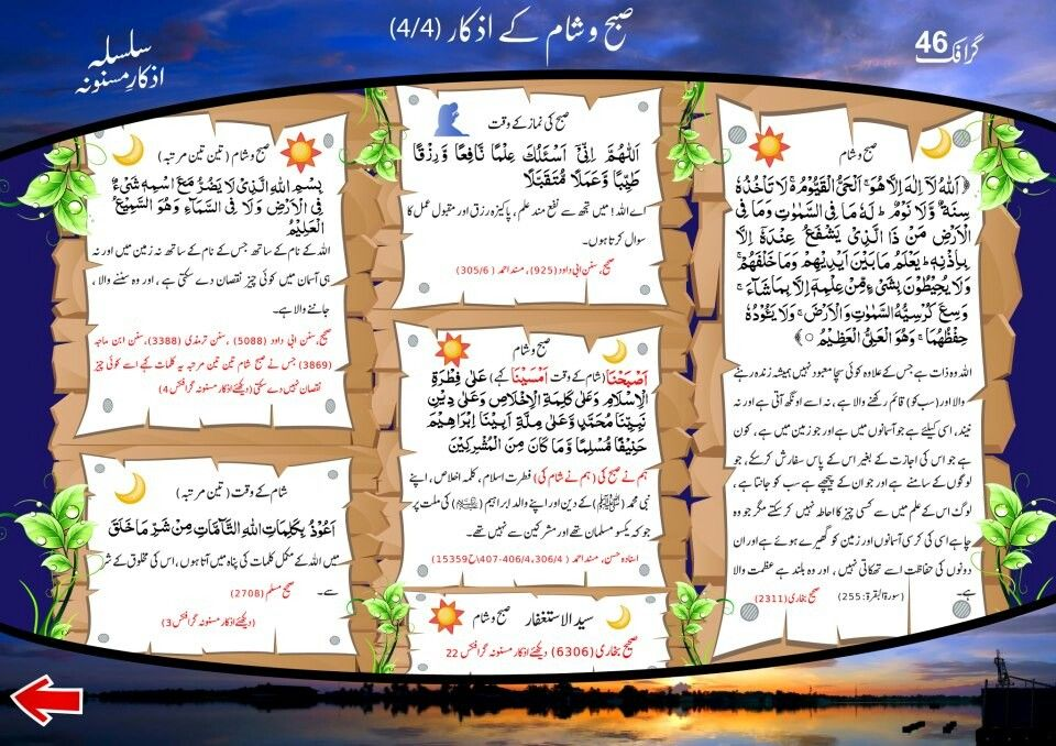 Hadees In Urdu Blog Subha Sham K Azkar Download