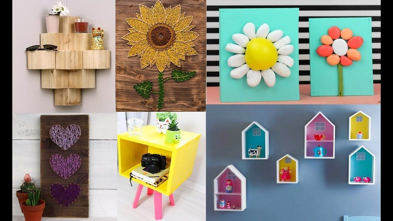 Diy Room Decor Easy Crafts Ideas At Home 2019 Diy Projects For Your R In 2021 Diy Decor Projects Diy Projects For Your Room Diy Home Decor Projects