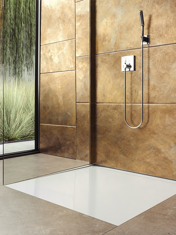 Nexsys Takes A Completely New Approach To Floor Level Showers Perfectly Combining Two Worlds With One Of The Main Advantage Being Dusche Duschrinne Kaldewei