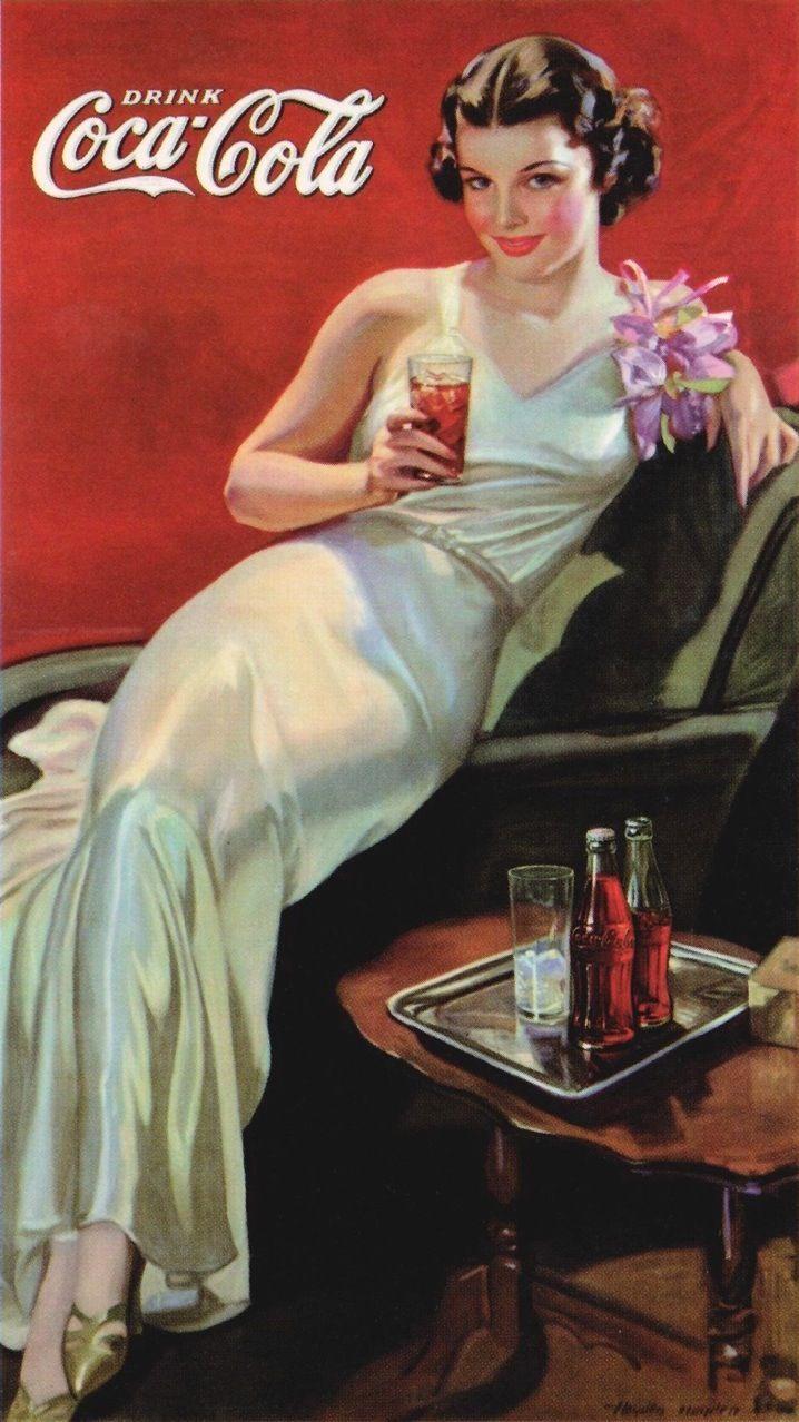 vintage coke posters