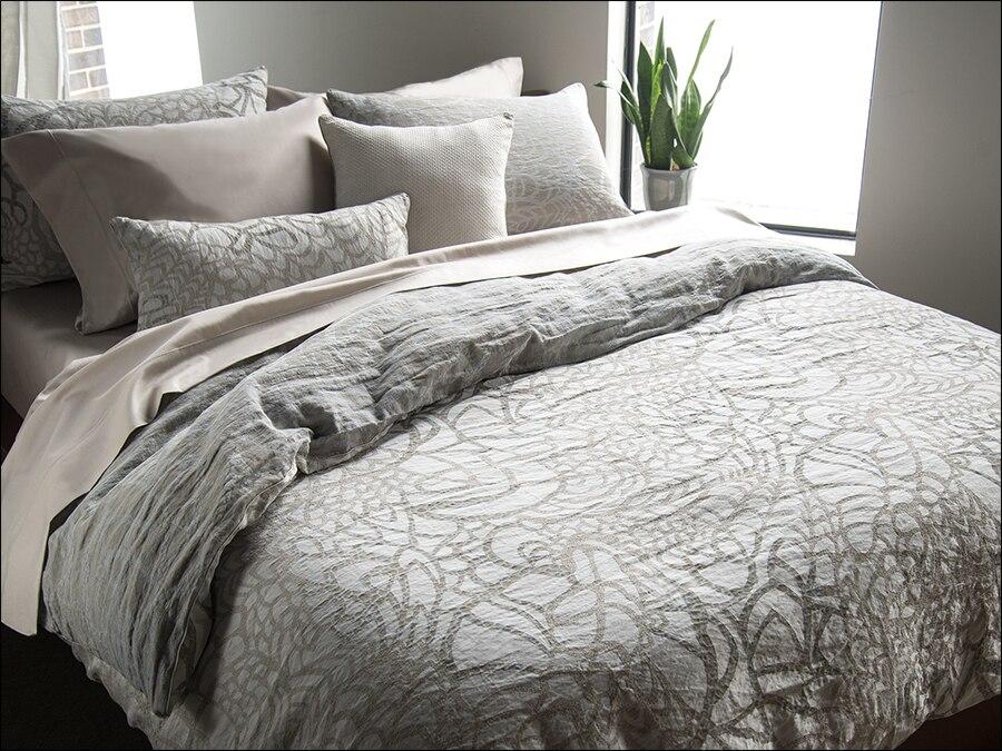 Grey Duvet Luxury Bedding Sets, Designer Bedding Sets Grey