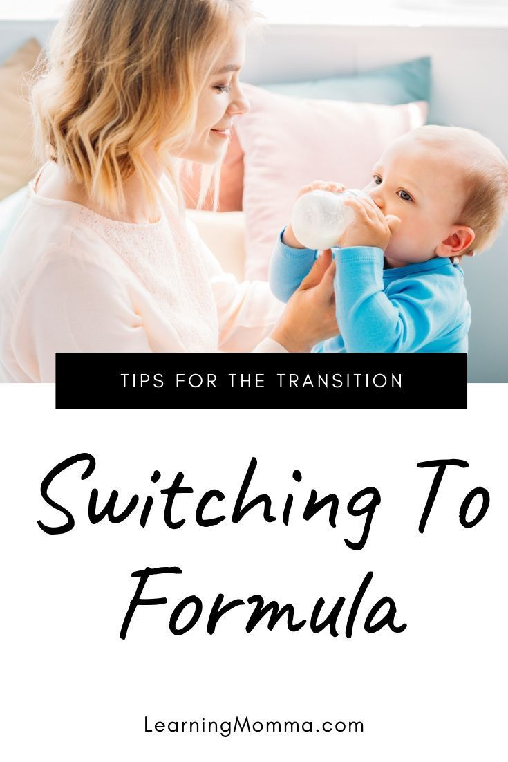 4 simple tips for switching from breastmilk to formula