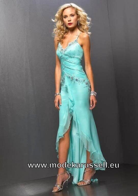 b80c190c418b63 Elegantes Vokuhila Abendkleid Vorne Kurz Hinten Lang | standesamt ...