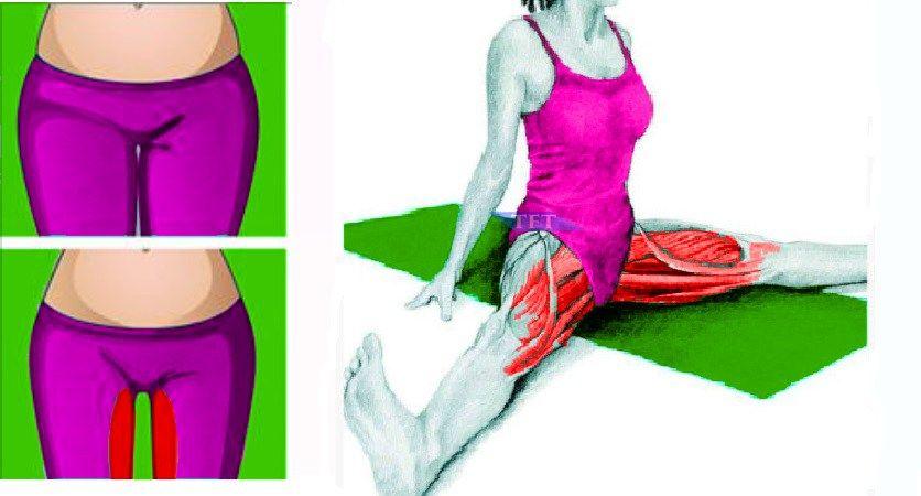 скрабы для похудения внутренней части бедра