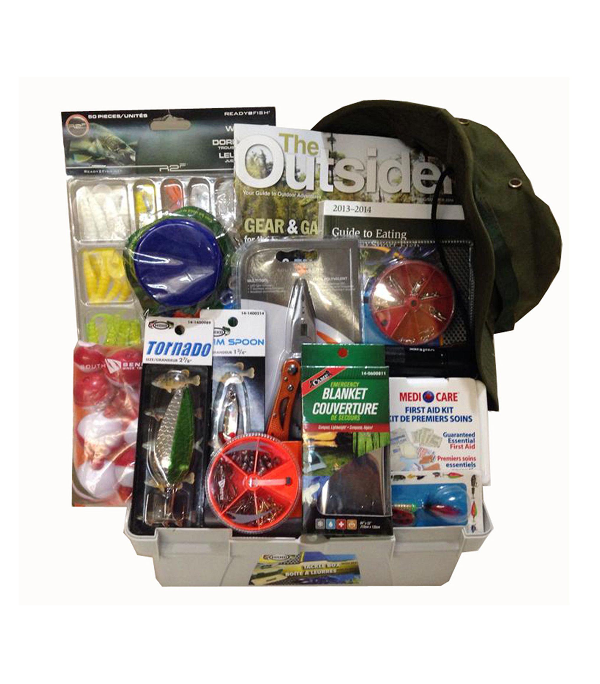 Fishing Gift Basket - Gift Baskets Toronto                                                                                                                                                                                 More