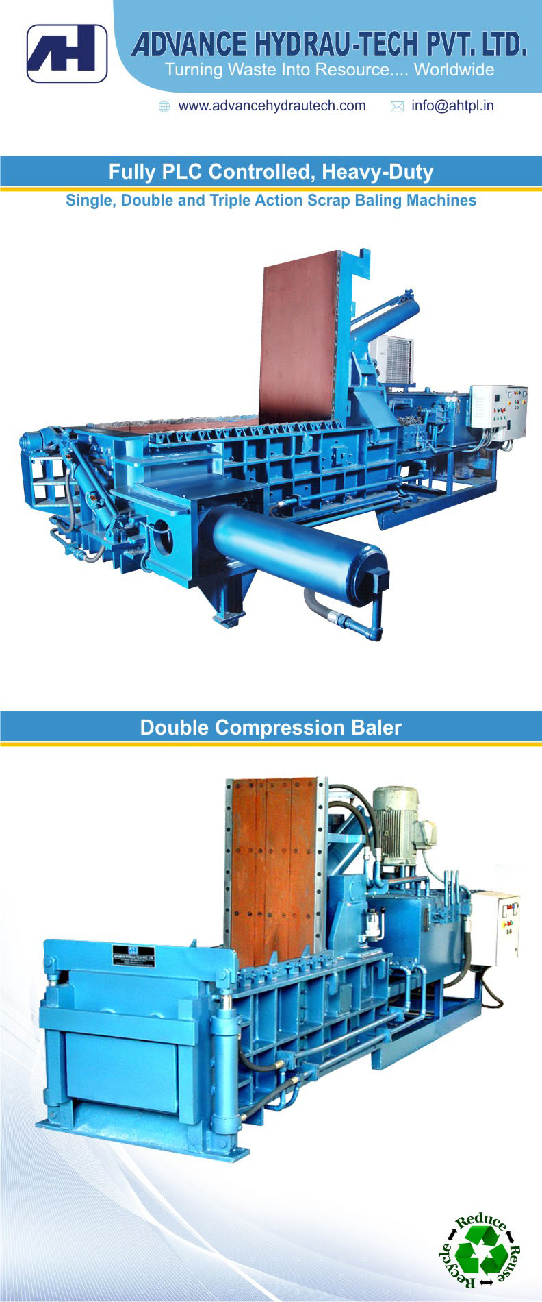 High Density Baling Solutions Available in Wide Range of