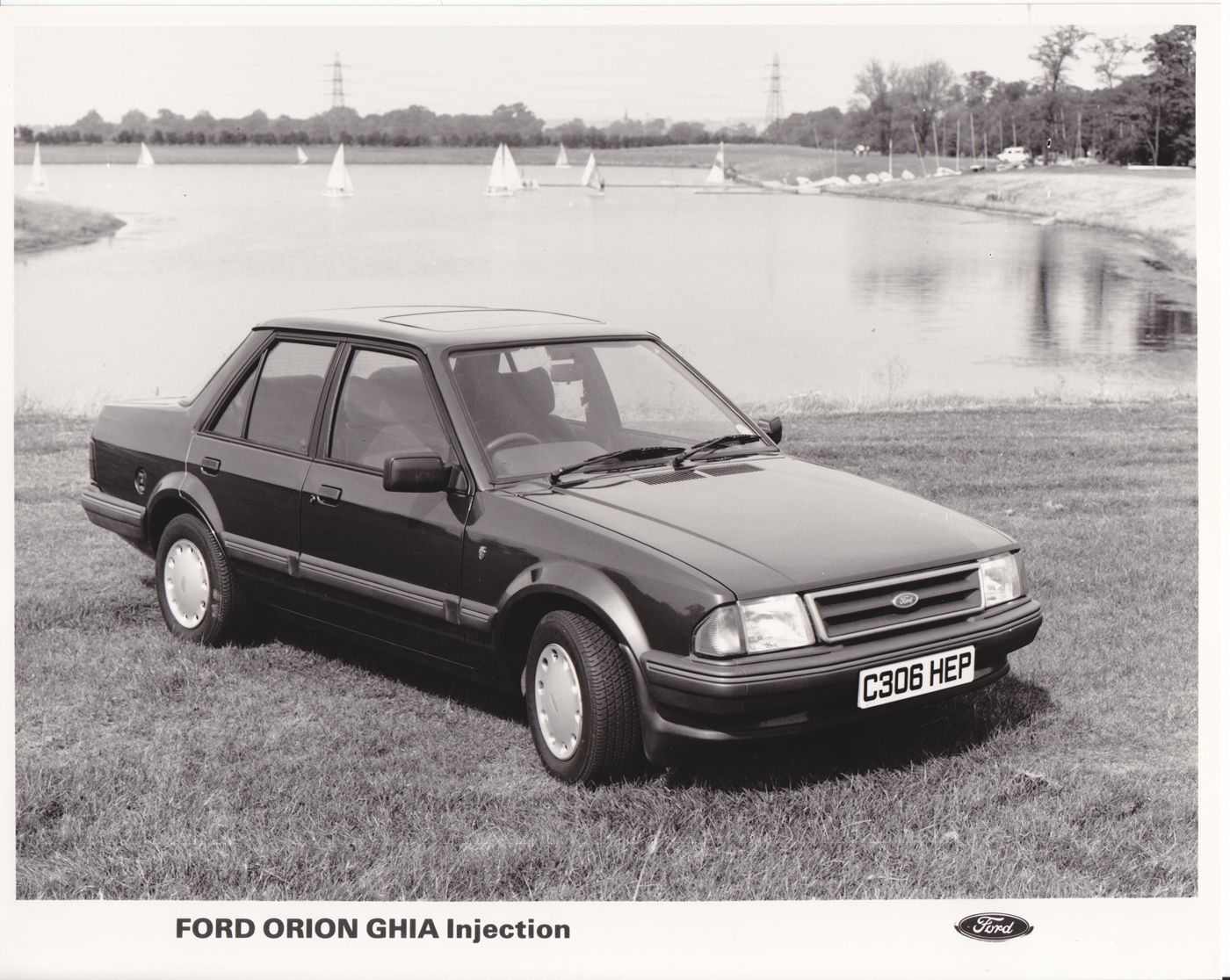 Ford Orion Ghia Injection Uk 1985 Ford Orion Ford Orion