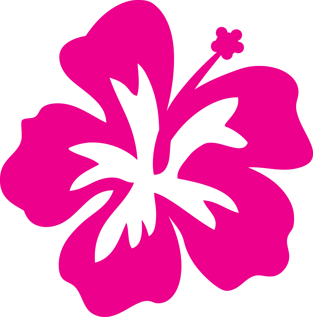 Hibiscus Flower Outline Cliparts Co Hawaiian Leaf Leaf Template Flower Svg