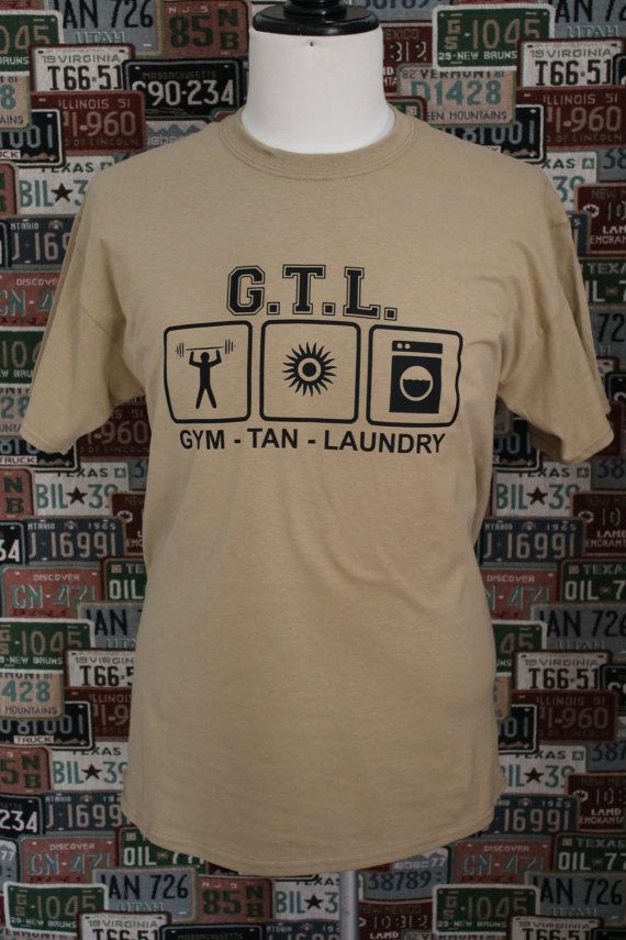 Lol Gym Tan Laundry Gtl Ice Breaker Tee Pick Up Line Piece