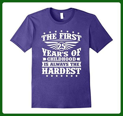 Mens Amazing T Shirt For Women Men 25 Year Old Birthday Gifts Medium Purple