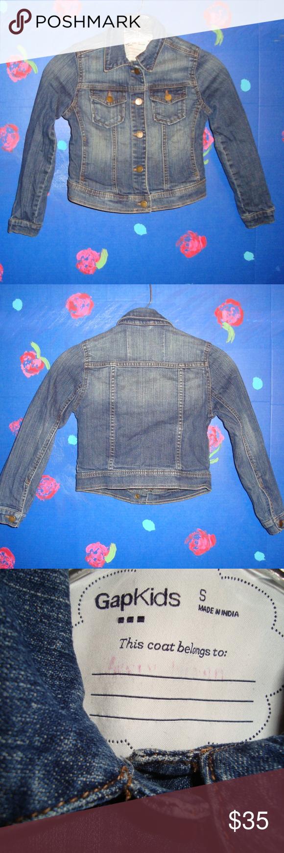 Gap Kids Denim Jacket Size Small Kids Denim Jacket Kids Denim Gap Kids [ 1740 x 580 Pixel ]