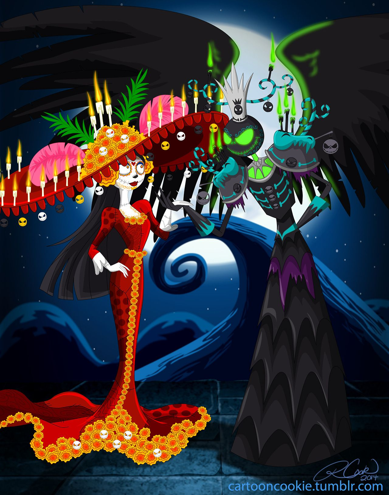 The Book of Life Before Christmas. One more pre Halloween picture ...