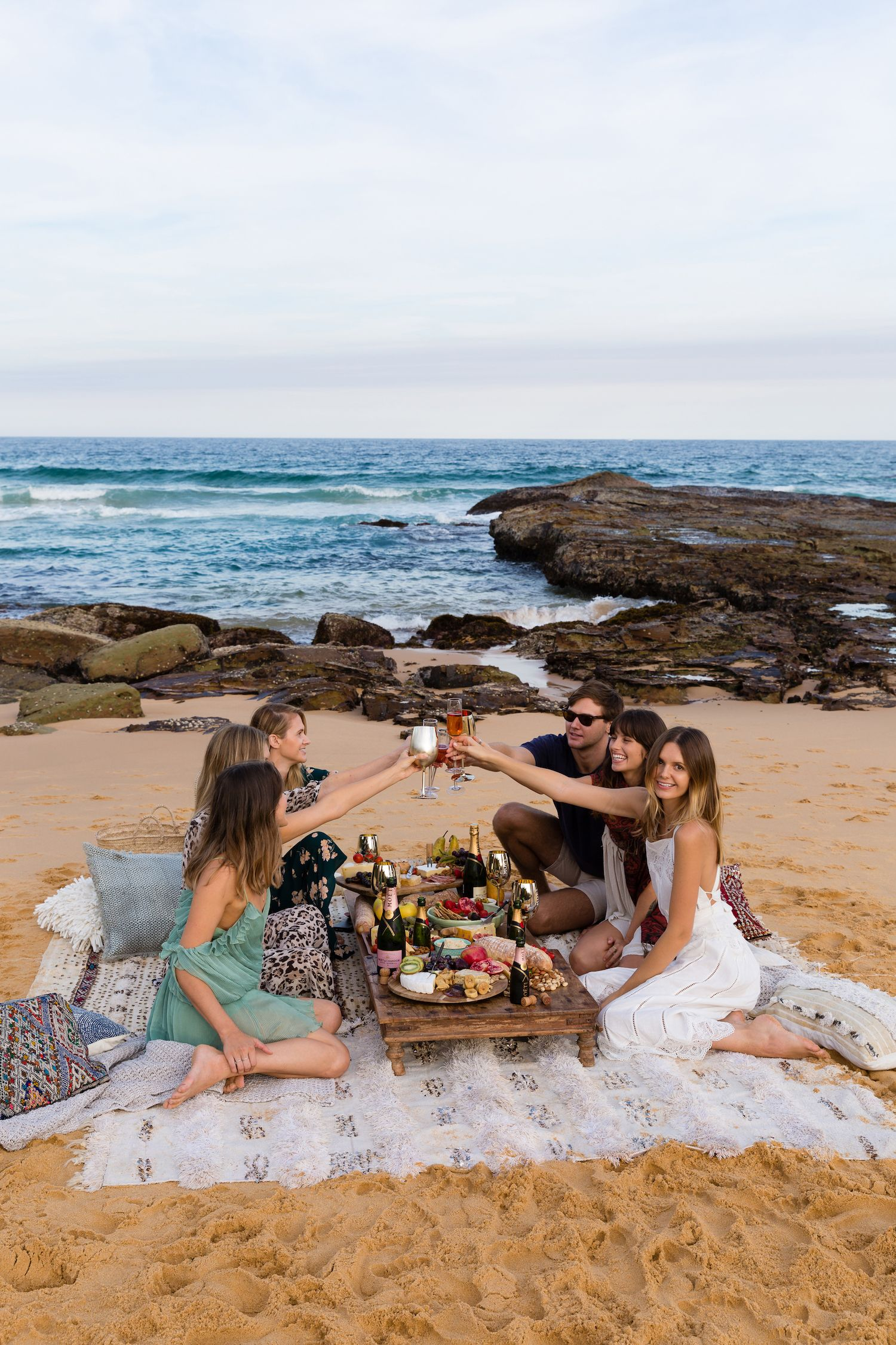Moët Moments Among Friends Picnic Party In Spoon Bay Central Coast Australia By Jessica Stein Tuulavintage
