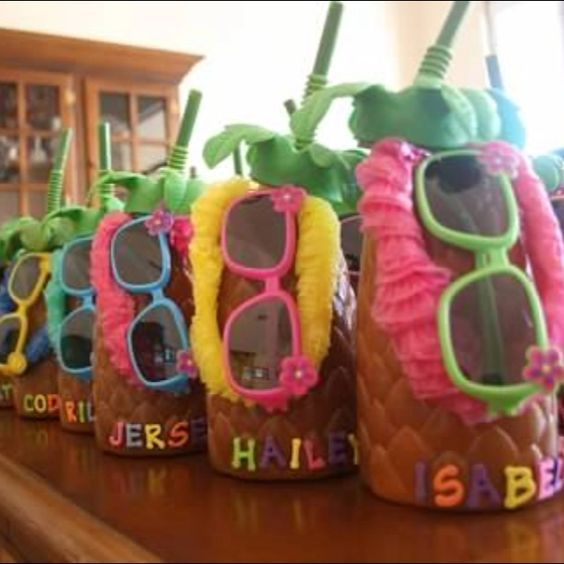 Pool Party Ideas For Teens summer pool party via karas party ideas karaspartyideascom summer beach Pineapple Cups Diy Pool Party Ideas For Teens