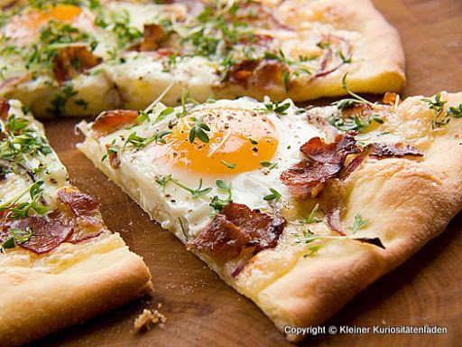 For the Sunday morning pizza lover.  //(*_~)\\