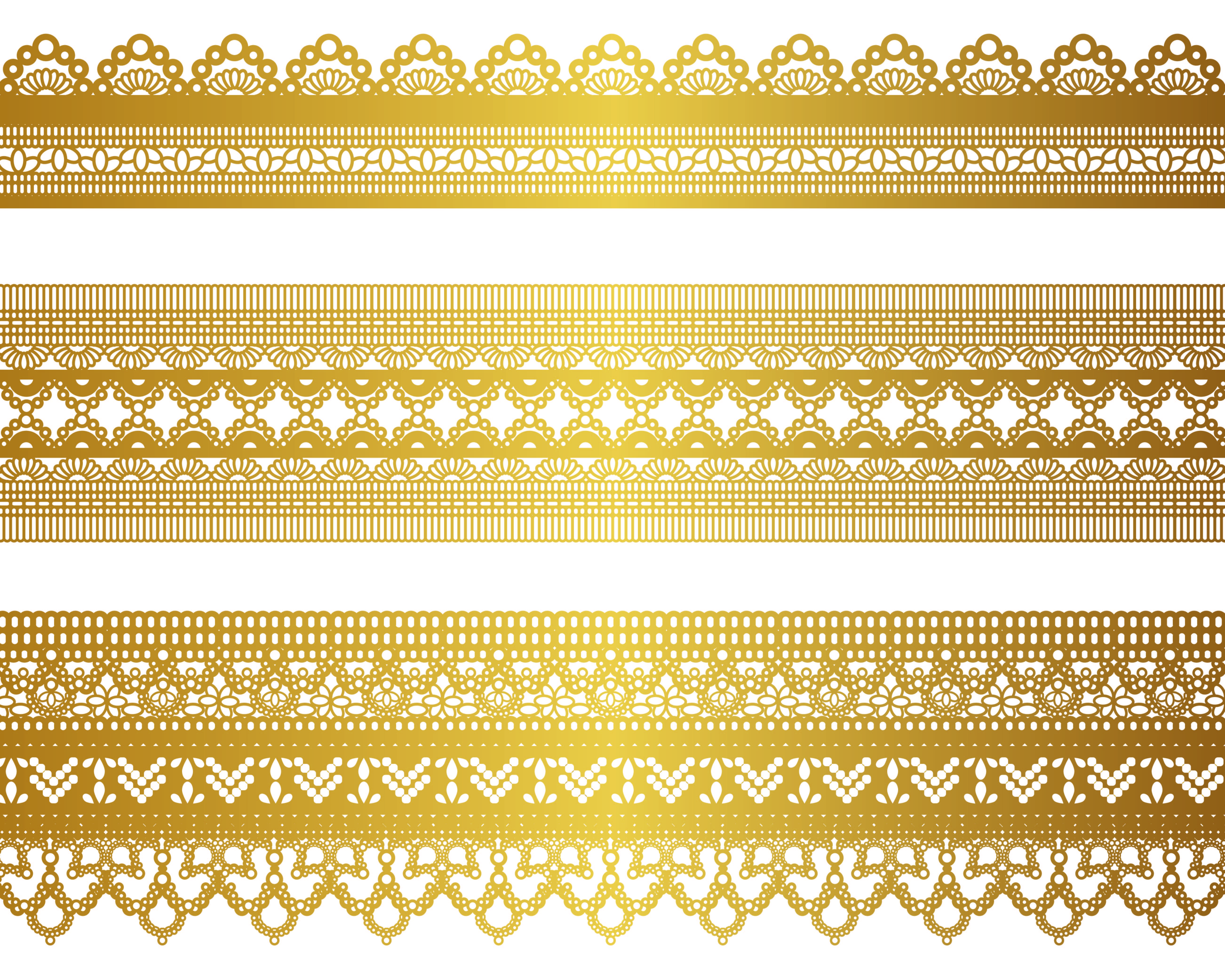 free vector gold lace pattern 04 vector vektor pinterest gold