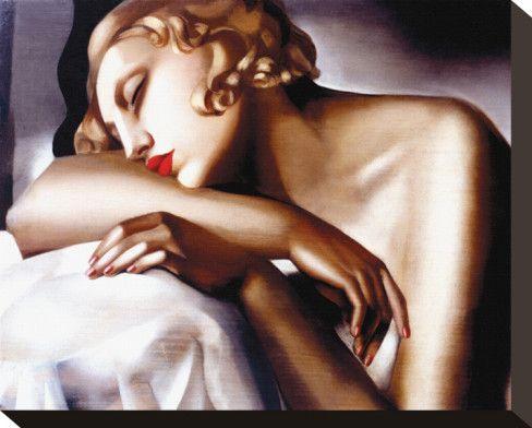 Tamara de Lempicka, La Dormeuse
