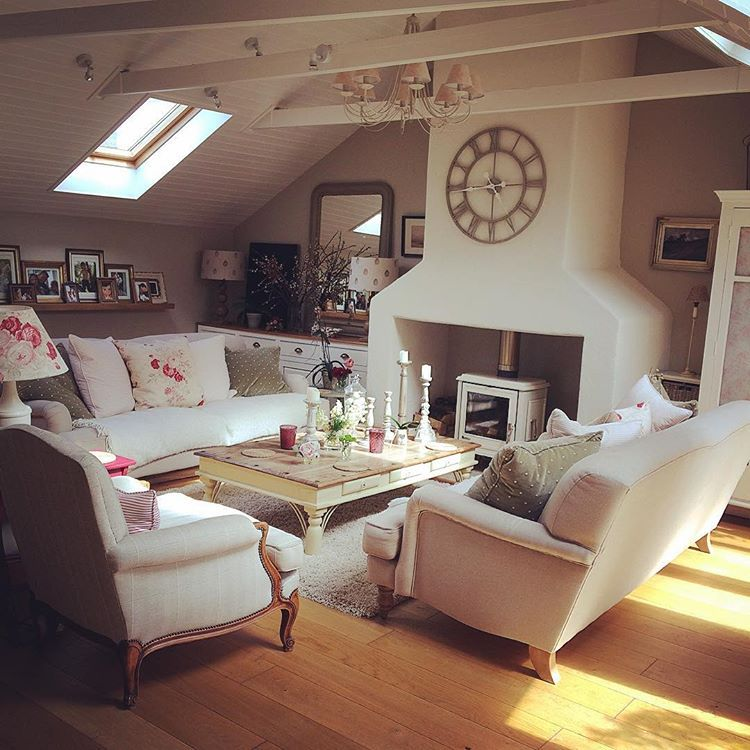 Shabby and charme un elegantissimo cottage nel devon for Interni in stile cottage