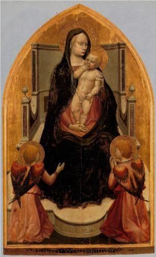 San Giovenale Triptych. Central panel - Masaccio