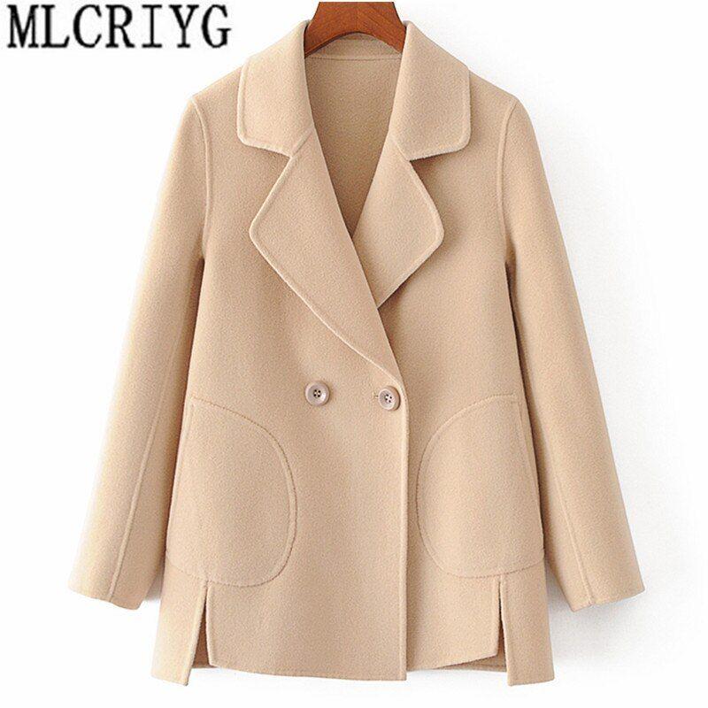Smarter Shopping Better Living Aliexpress Com Mit Bildern Jacken Frauen Wollmantel Mode Mantel