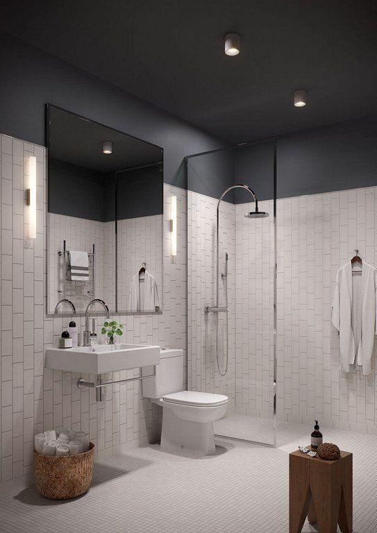 30+ Small Modern Bathroom Decor Ideas With Natural Light Bathroom