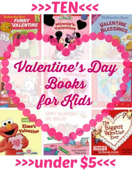 10 Valentine's Day Books for Kids Under $5 Each