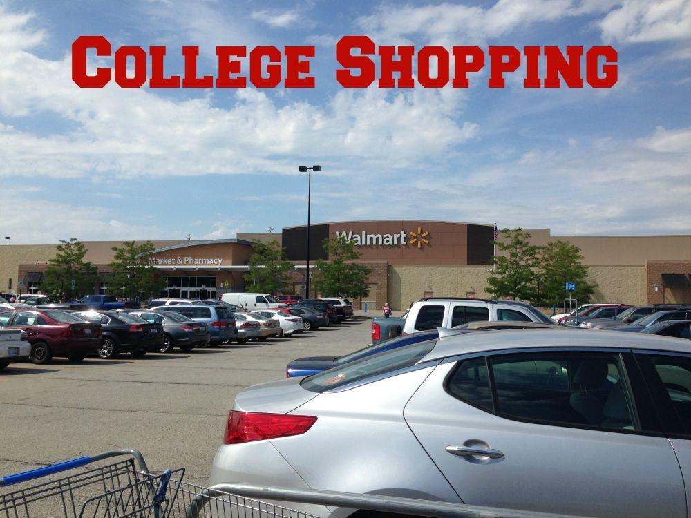 Shopping for College Necessities College necessities