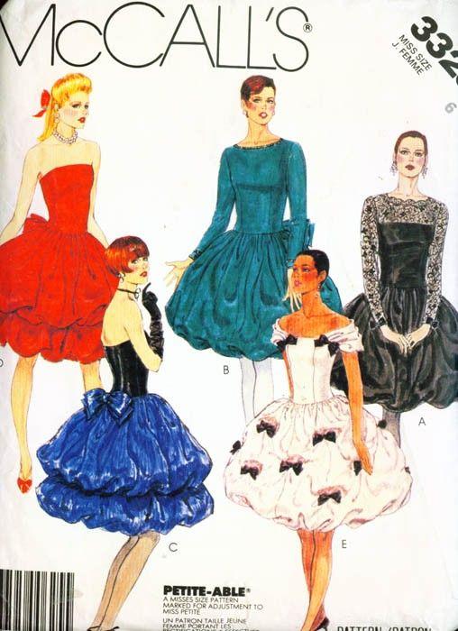 Schnittmuster kleid 80er