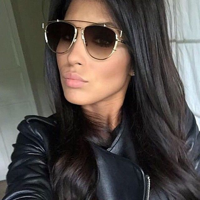 Sarrah Zarti rocking these Dior Techologic Perfect Aviator Shades Sunglasses  available and in stock on the b434af1f29