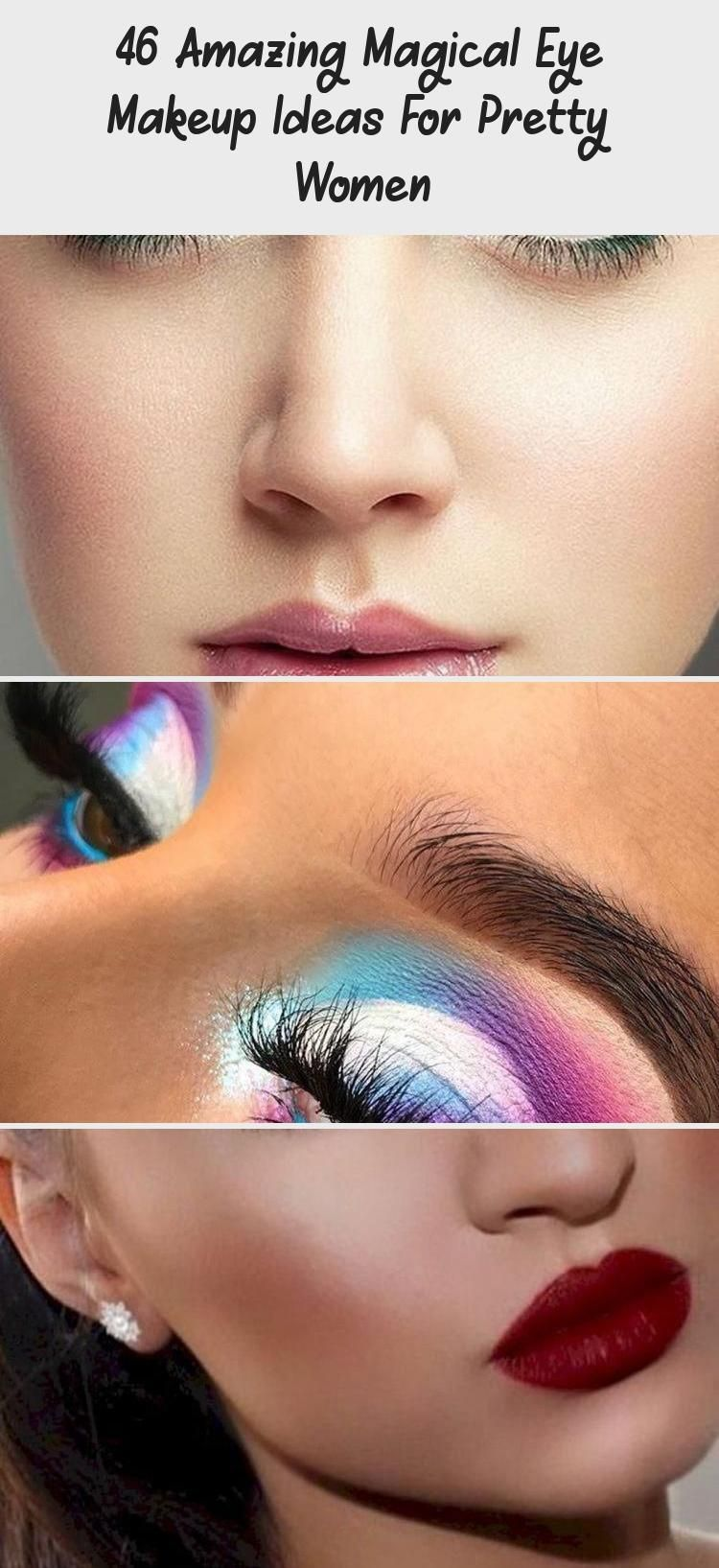 Photo of 46 Amazing Magical Eye Makeup Ideas For Pretty Women – Makeup