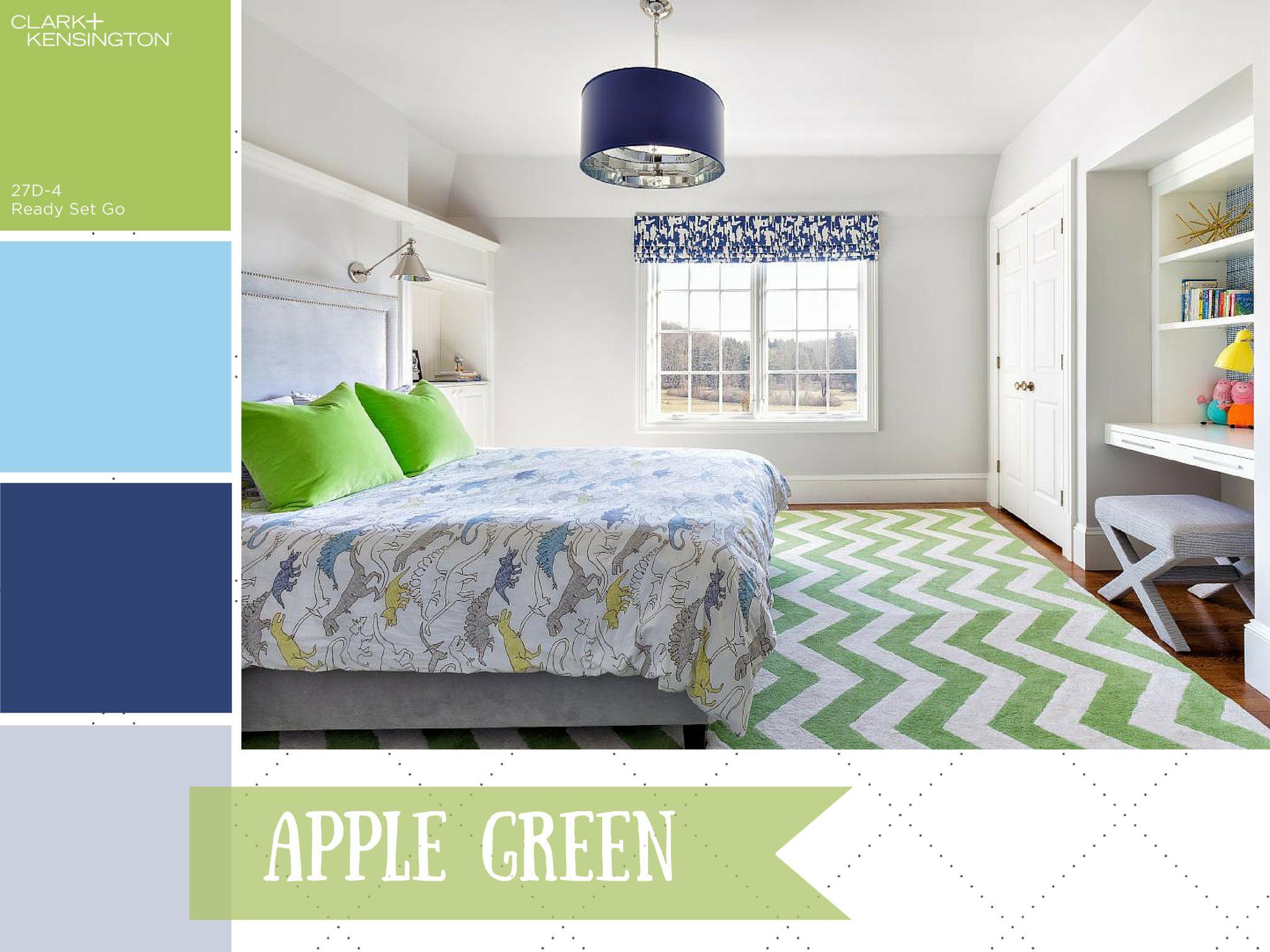 Apple Green Color Palette - Apple Green Color Schemes  Bedroom