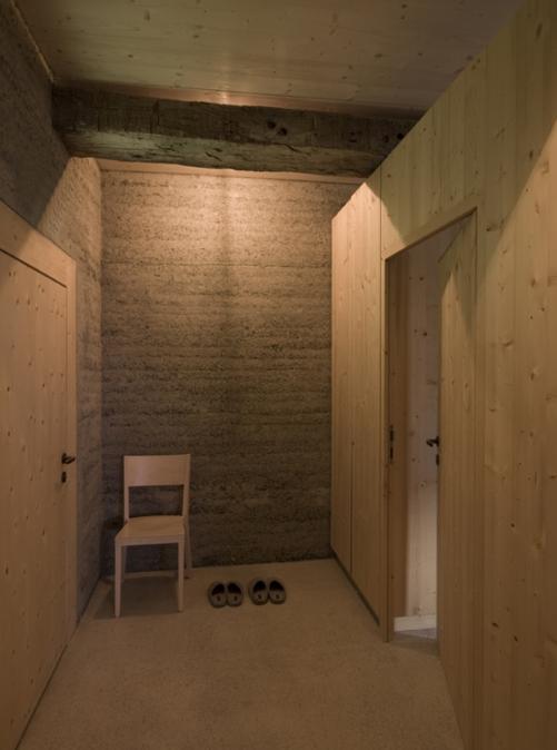 Martin Rauch Innenraum Architektur Haus Bauen Bau