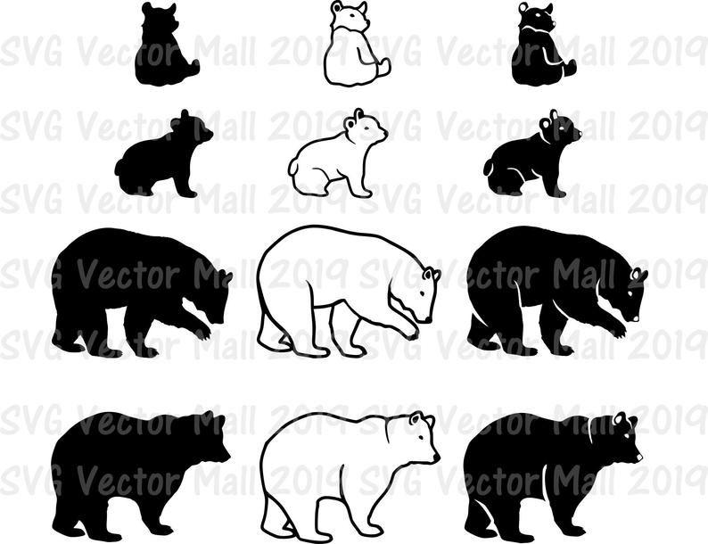 Pin On Bear Tattoo Designs