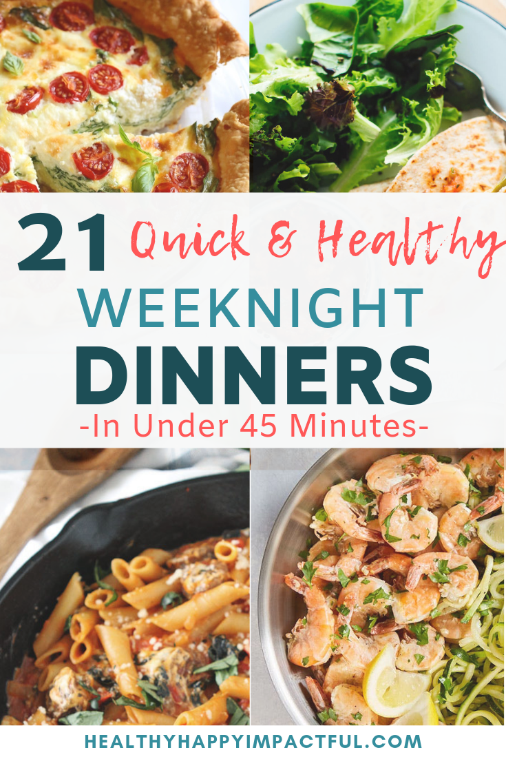 Healthy Supper Ideas For Two