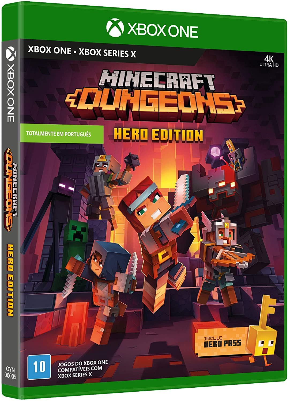 Minecraft Dungeons - Hero Edition (Inclui Hero Pass) em 12