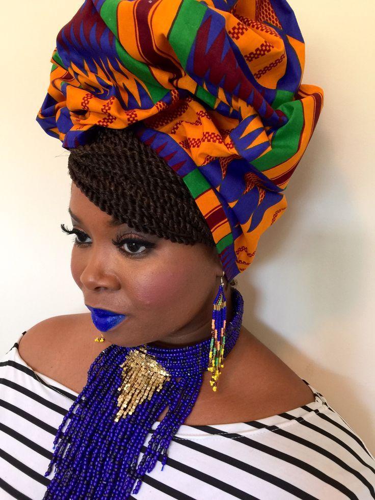 Ami African Print Headwrap  #African #Ami #Headwrap #print #afrikanischerdruck
