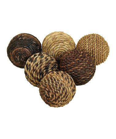 Decorative Woven Balls Take A Look At This Abaca Woven Decorative Orb Setuma