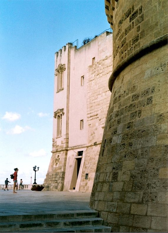 Otranto Castle - Apulia, Italy. 40°09′00″N 18°29′00″E