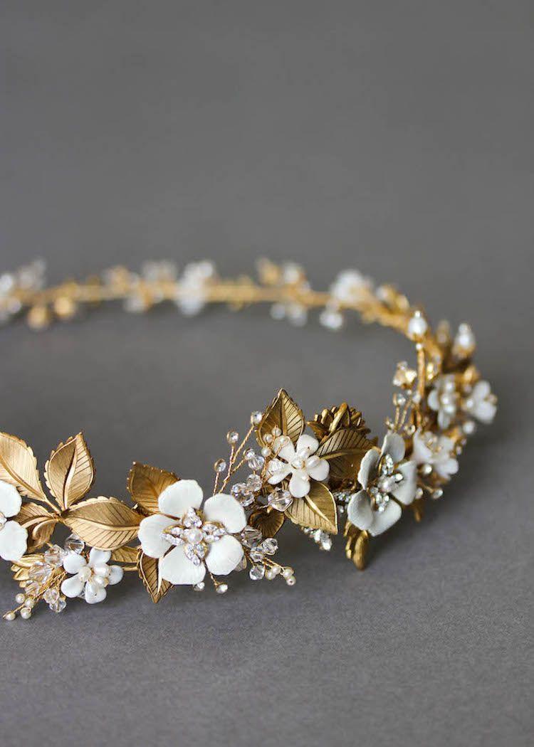 We wedding headpiece jewellery - We Love This Beautiful Headpiece