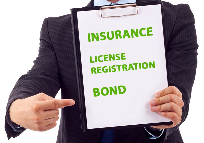 What is a licensed, bonded and insured contractor