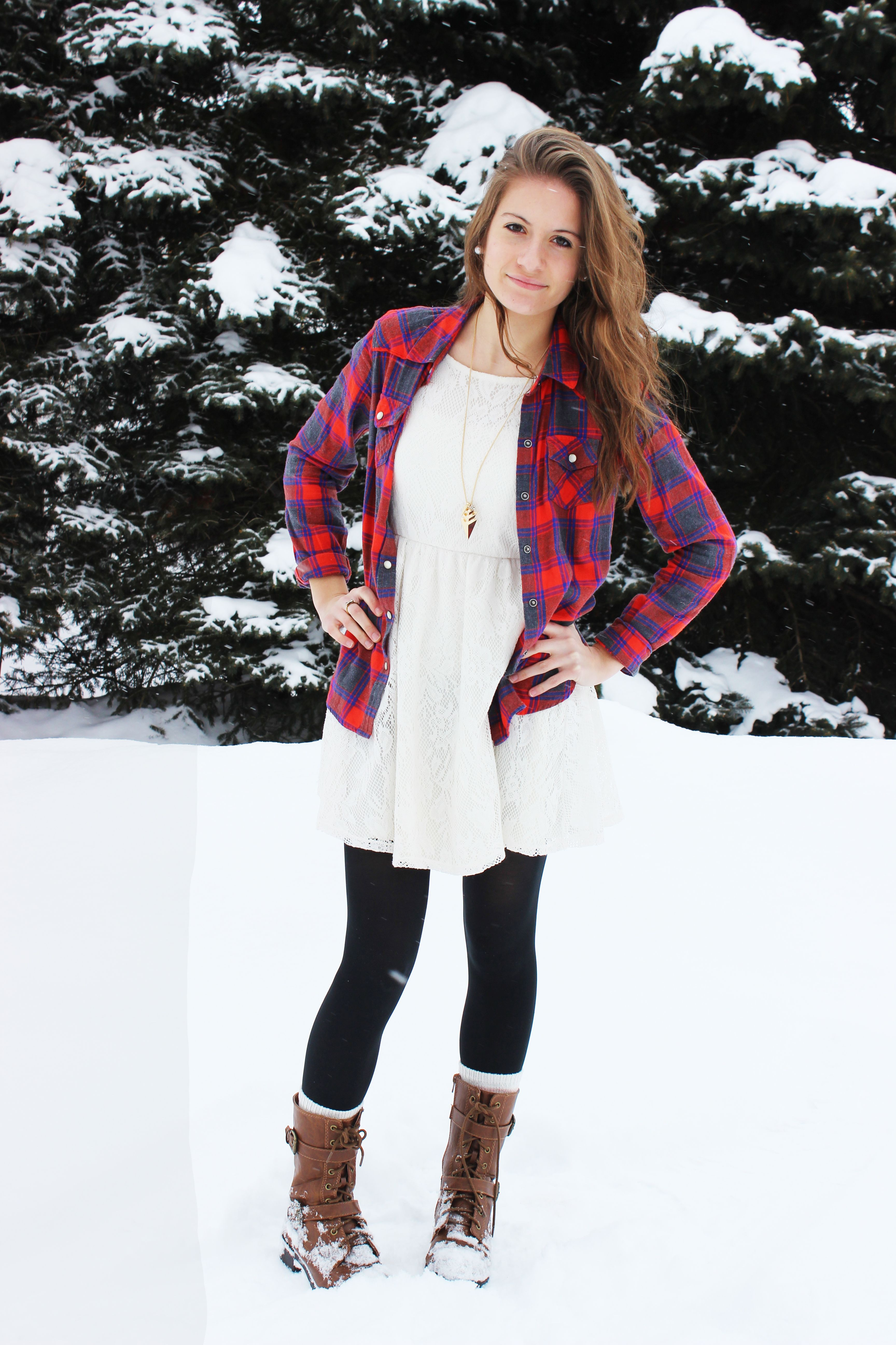 Turn Your Summer Dresses Into Winter Outfits