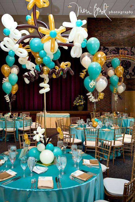 Bat mitzvah balloon decor it s your party pinterest