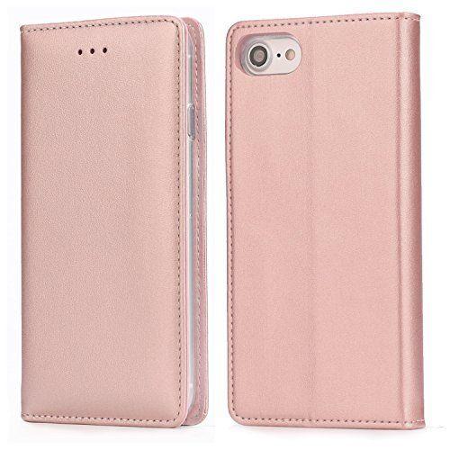 coque iphone 7 rose avec support