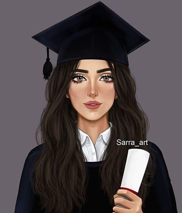 Pin By نور السراج On Beauty Art Girly Drawings Sarra Art Cute Girl Drawing